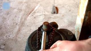 membuat sendiri kunci adjustable wrench dari rantai