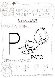 Atividades letra P