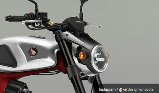 Headlamp LED Honda S90