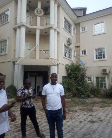 Finally, Police unseal Peace Corps Headquarters office