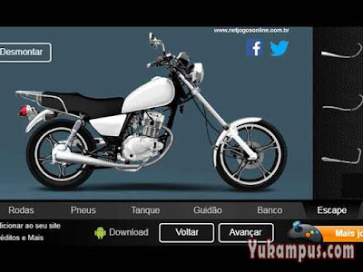 create your custom bike 125