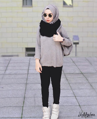 model fashion hijab casual terbaru