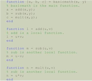 Electrical Engineering Tutorial ~ User Defined Functions in MATLAB Part-4