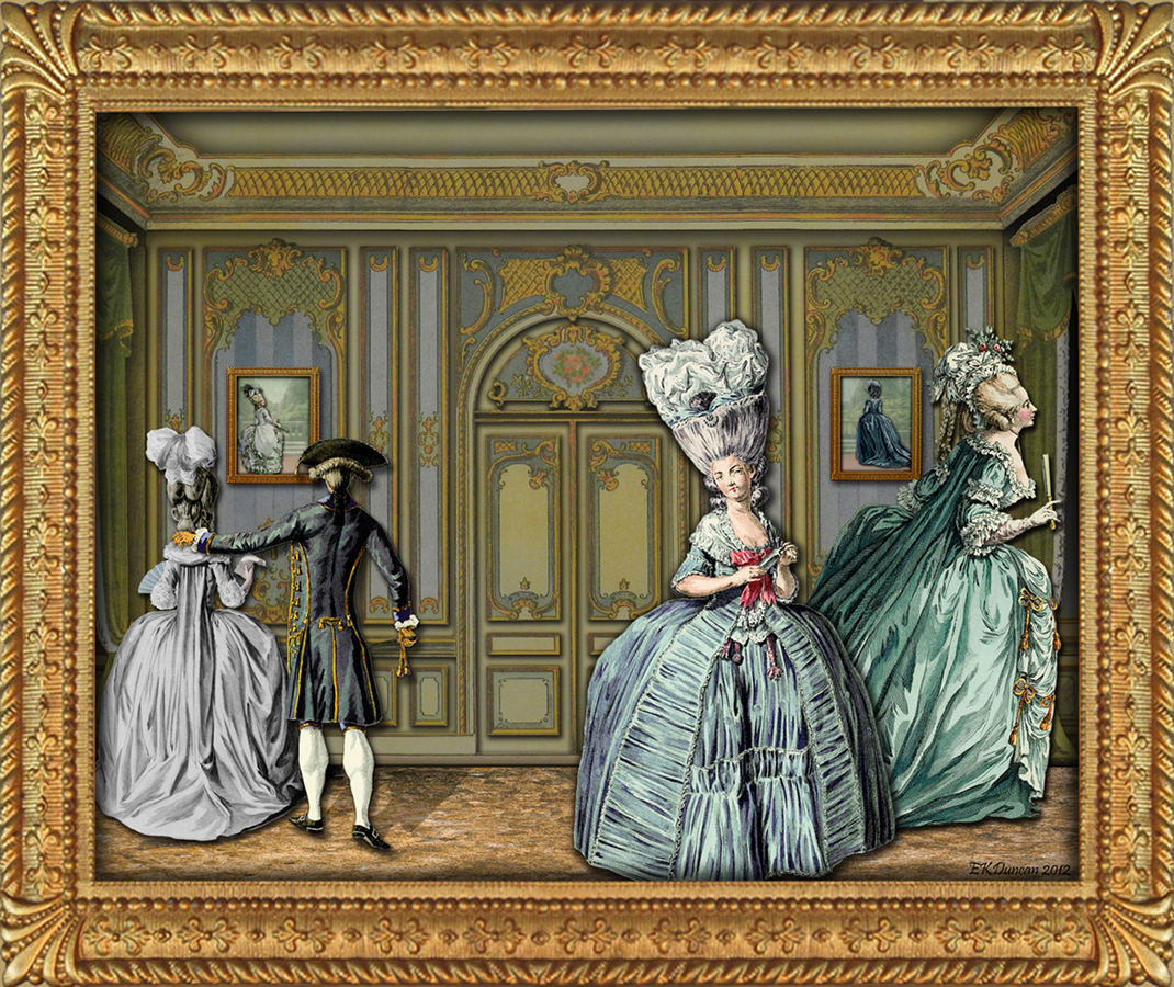 Salon Vintage Paris Ekduncan My Fanciful Muse Rococo Style Room And 18th