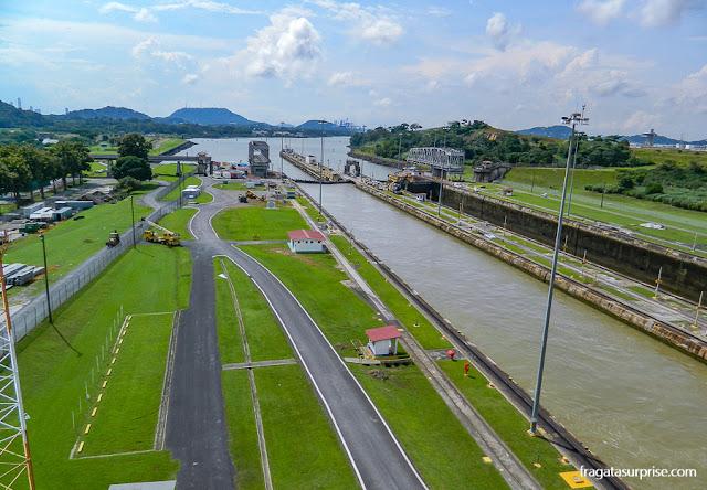 Canal do Panamá, Eclusas de Miraflores