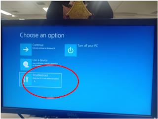Troublehoot PC Yang Tidak Bisa Masuk Windows & Blank Hitam