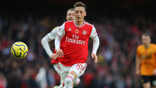 Mikel Arteta Gives Reason Why Mesut Ozil Is Not Playing