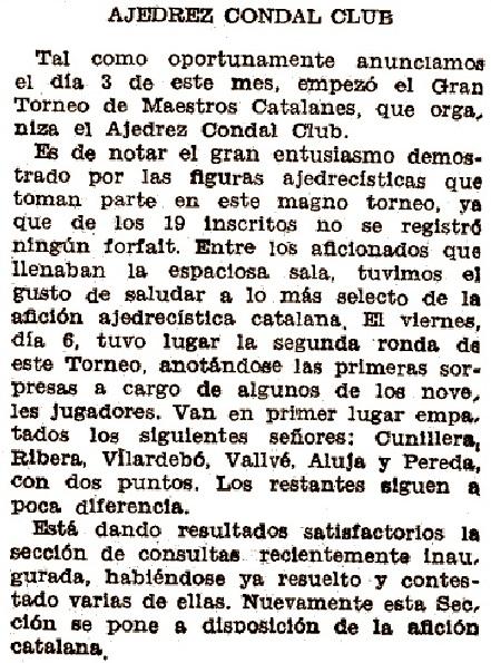Recorte del Mundo Deportivo, 12/4/1934