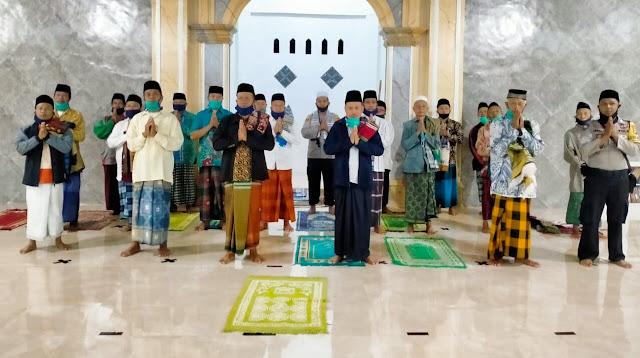 Masjid ke-73, Kapolres Lotim Sosialisasi New Normal dan Kampung Sehat