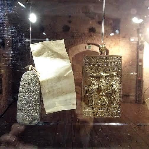 Βυζαντινό εγκόλπιο με λείψανο του Ιωάννου Χρυσοστόμου http://leipsanothiki.blogspot.be/