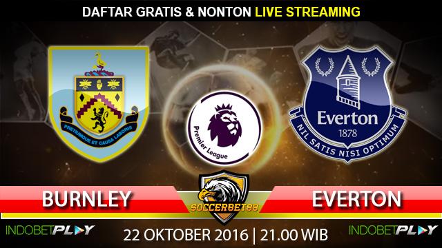 Prediksi Burnley vs Everton 22 Oktober 2016 (Liga Inggris)