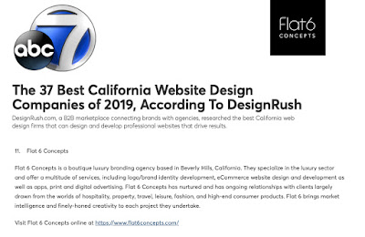 Flat 6 Concepts is a Luxury branding and web design agency in Los
