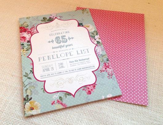 30 More Modern Birthday Invitation Card Designs - Jayce-o-Yesta - birthday card invites