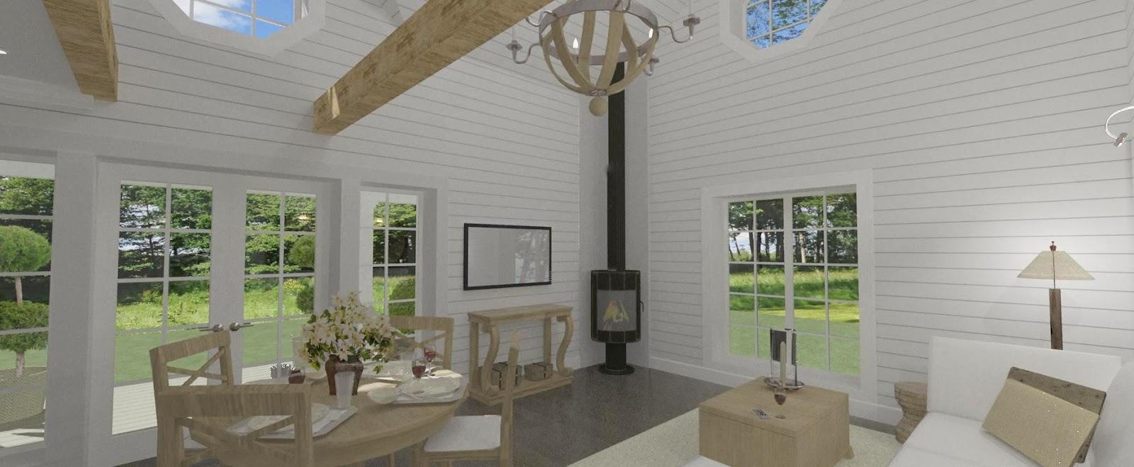 Den vita drömgården: ett eget hus på 45 kvadrat