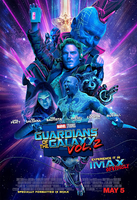 Marvel's Guardians of the Galaxy Vol. 2 Final Theatrical One Sheet IMAX Movie Poster