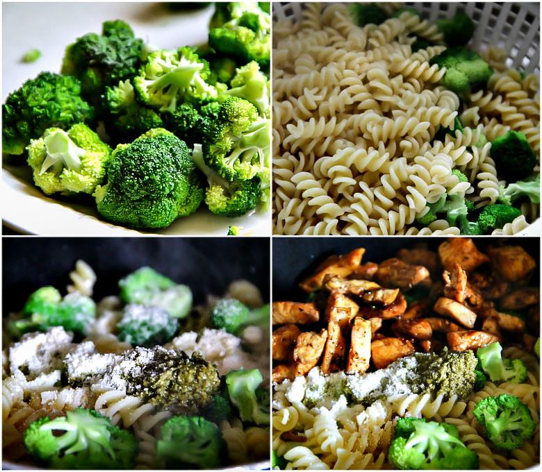 15 MINUTES DINNER: Chicken Pesto Pasta