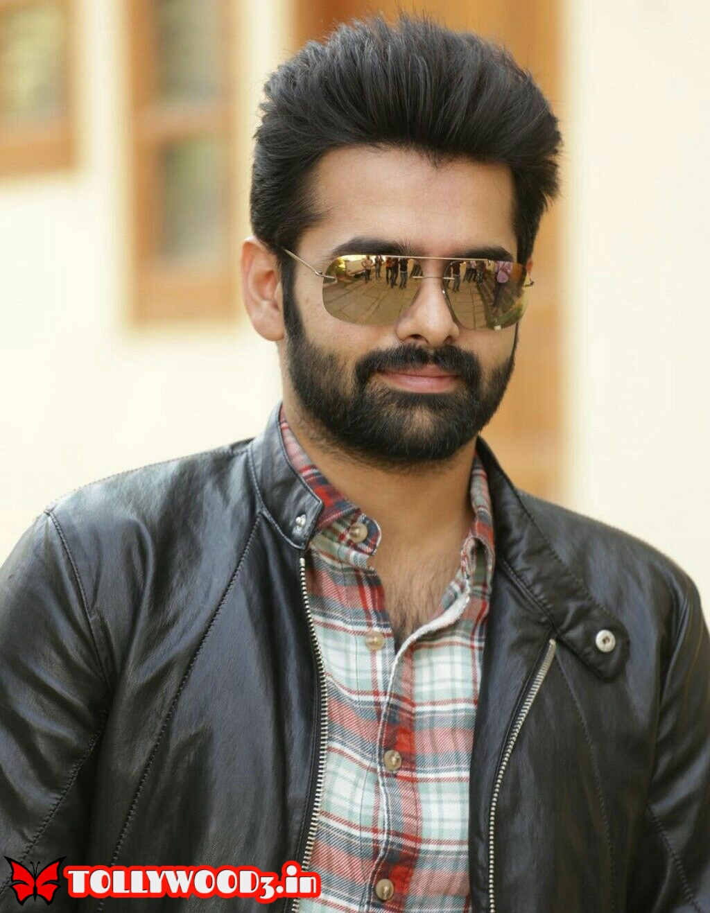 ram pothineni and his girlfriend