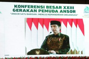 Presiden Buka Secara Resmi Konbes XXIII GP Anshor. Gubernur : Terimakasih Sudah Memilih Sulut Tuan Rumah