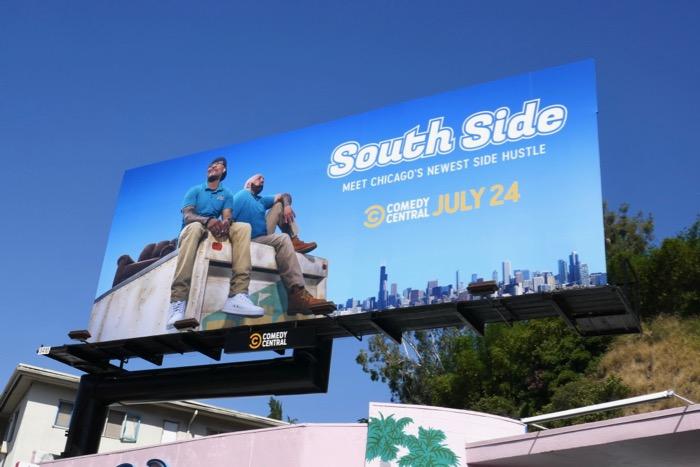 South Side series premiere billboard