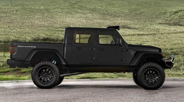 Hennessey Jeep Gladiator V8 Hellcat 1000 CV