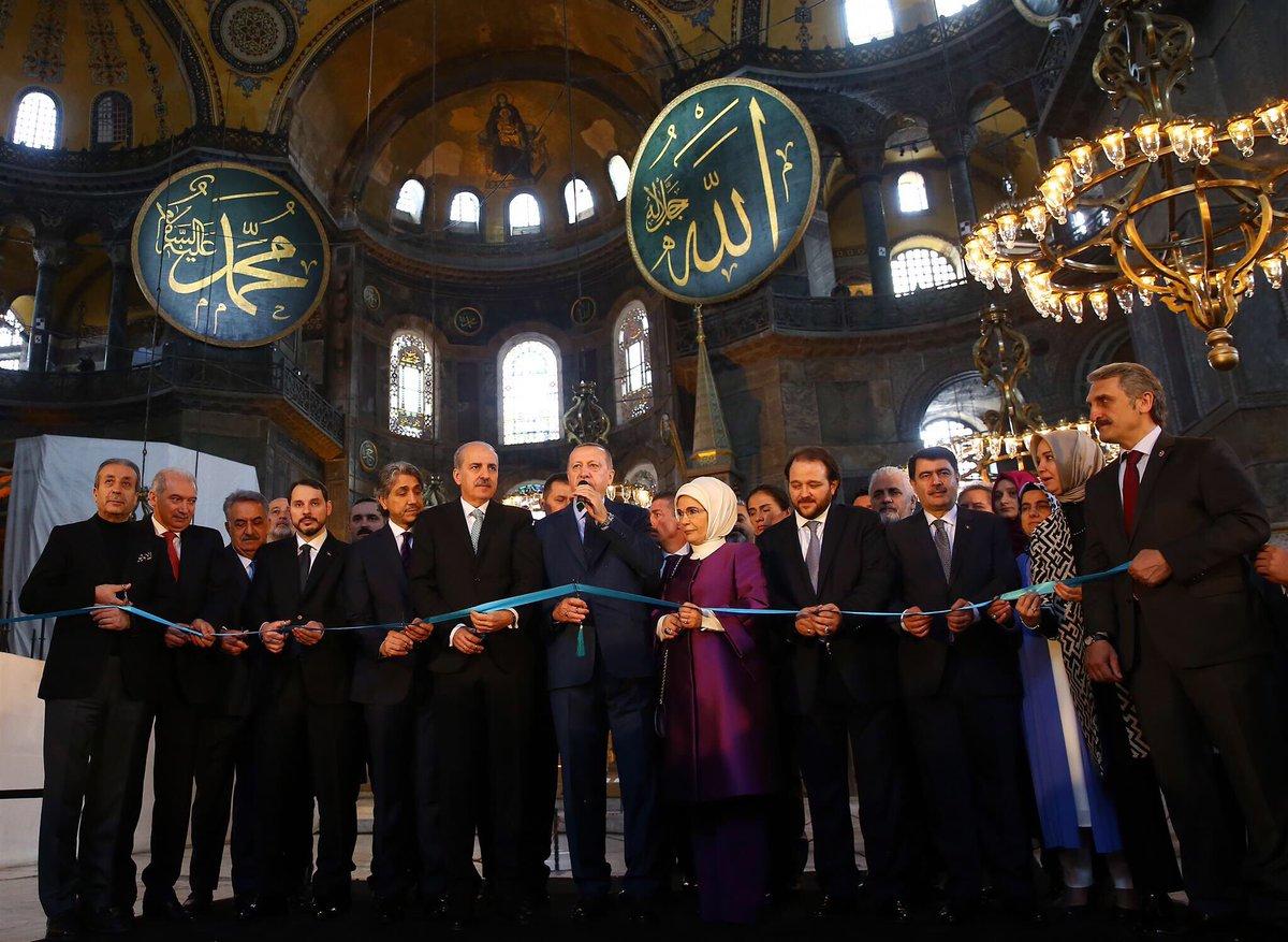 Soal Hagia Sophia, Ini Pernyataan Erdogan yang Membanggakan