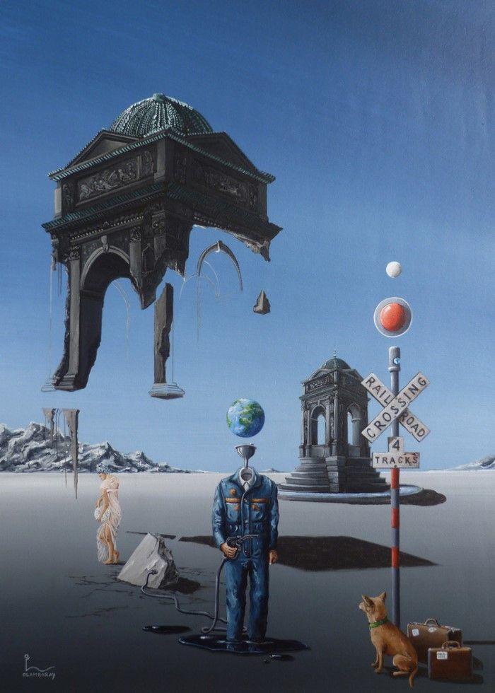 Между мечтой и реальностью. Olivier Lamboray