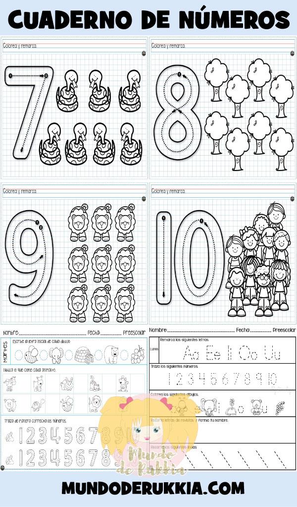 cuaderno-fichas-vocales-numeros-preescolar