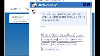 hdfc-eva-chatbot