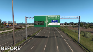 ets 2 realistic signs screenshots 4a