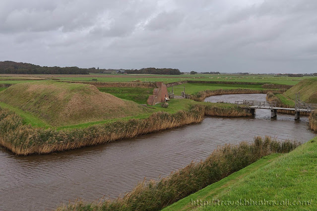 Fort de Schans Texel Island