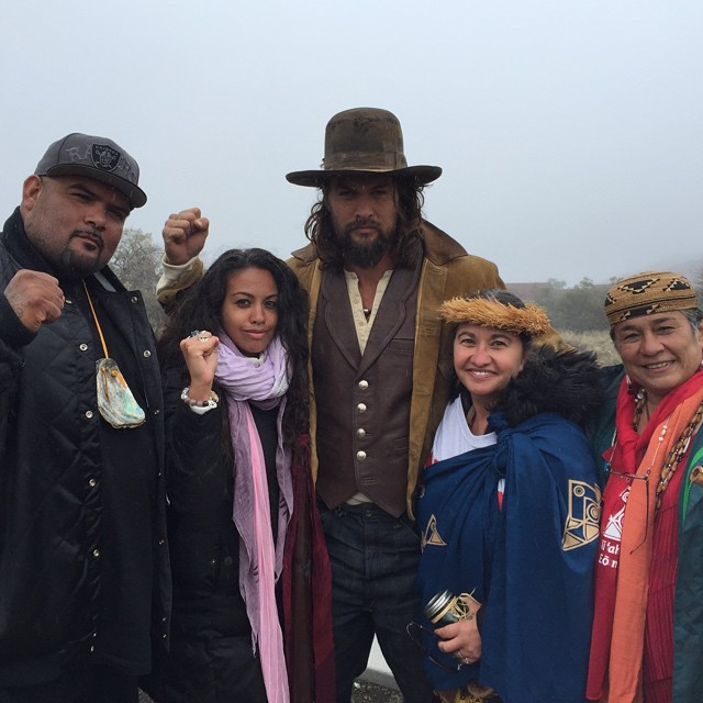 White Wolf : Jason Momoa Is Using His Celebrity Clout To