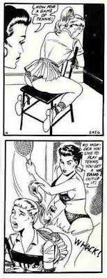 F/f spanking art