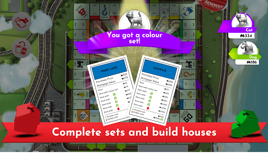 Complete set and Build house