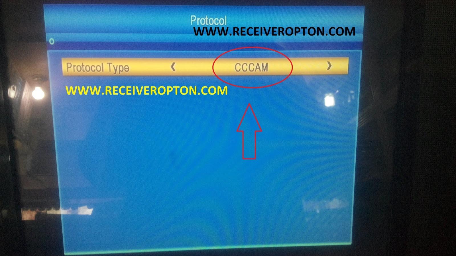 NEOSAT I-5000 HD RECEIVER CCCAM OPTION - HOW TO ENTER BISS