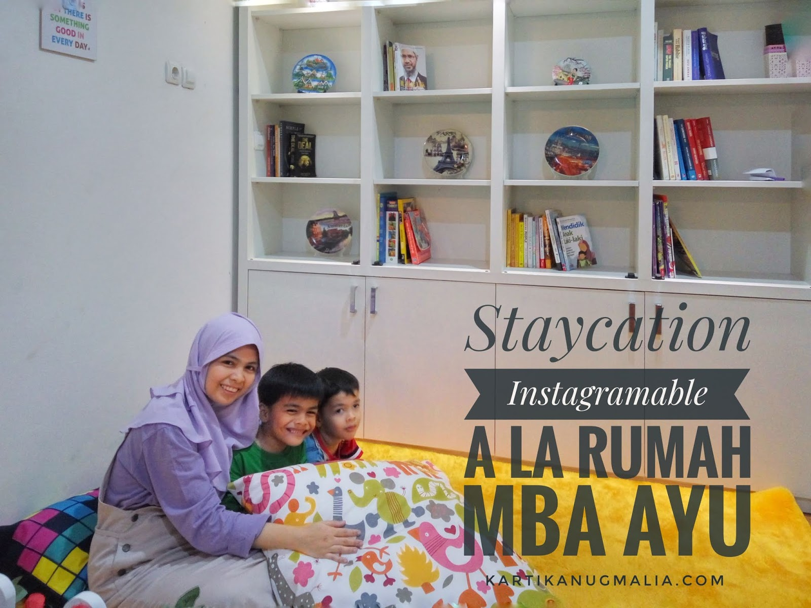 Rumah Mba Ayu Staycation Instagramable