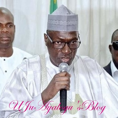 What PDP Chairman, Makarfi Told Buhari's Minister, APC Governorship Candidate Who Visited Him Today At PDP Secretariat