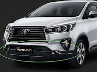 Harga Dan Fisik : Bodikit/Spoiler Depan Toyota Innova Venturer 2021 P5154-0KA13-00