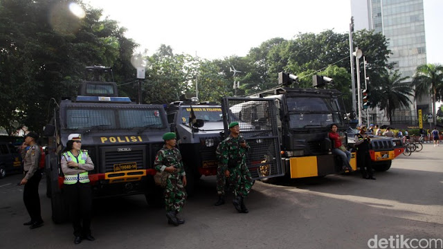 16 Ribu Personil TNI & Polri Amankan May Day