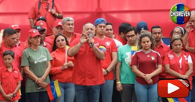 Diosdado Cabello amenaza con quitarle la comida a quien no vote en las fraudulentas del 6D