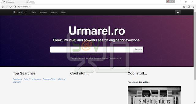 Urmarel.ro (Hijacker)