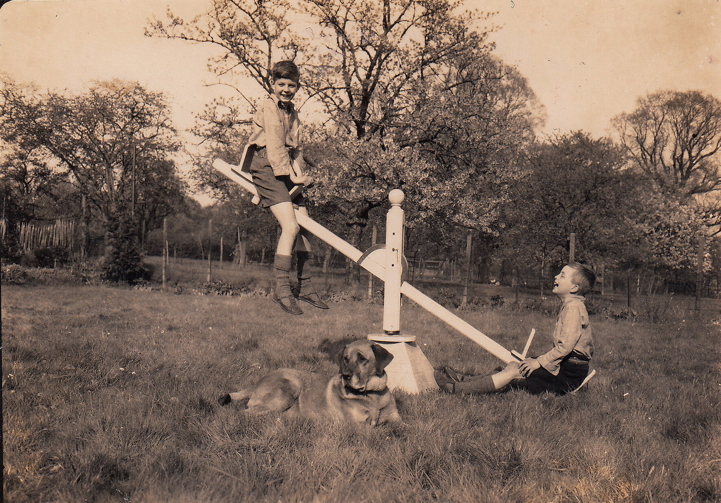 image result for 1940s seesaw [ 1446 x 1009 Pixel ]