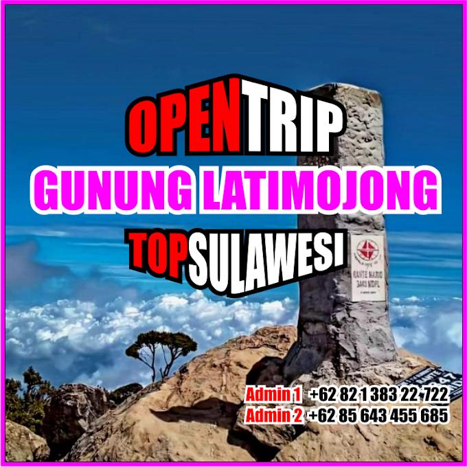Open Trip 2021 Gunung Latimojong Jalur Baraka Via Karangan
