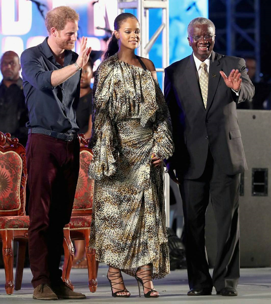 Photos: Rihanna Welcomes Prince Harry In Barbados For