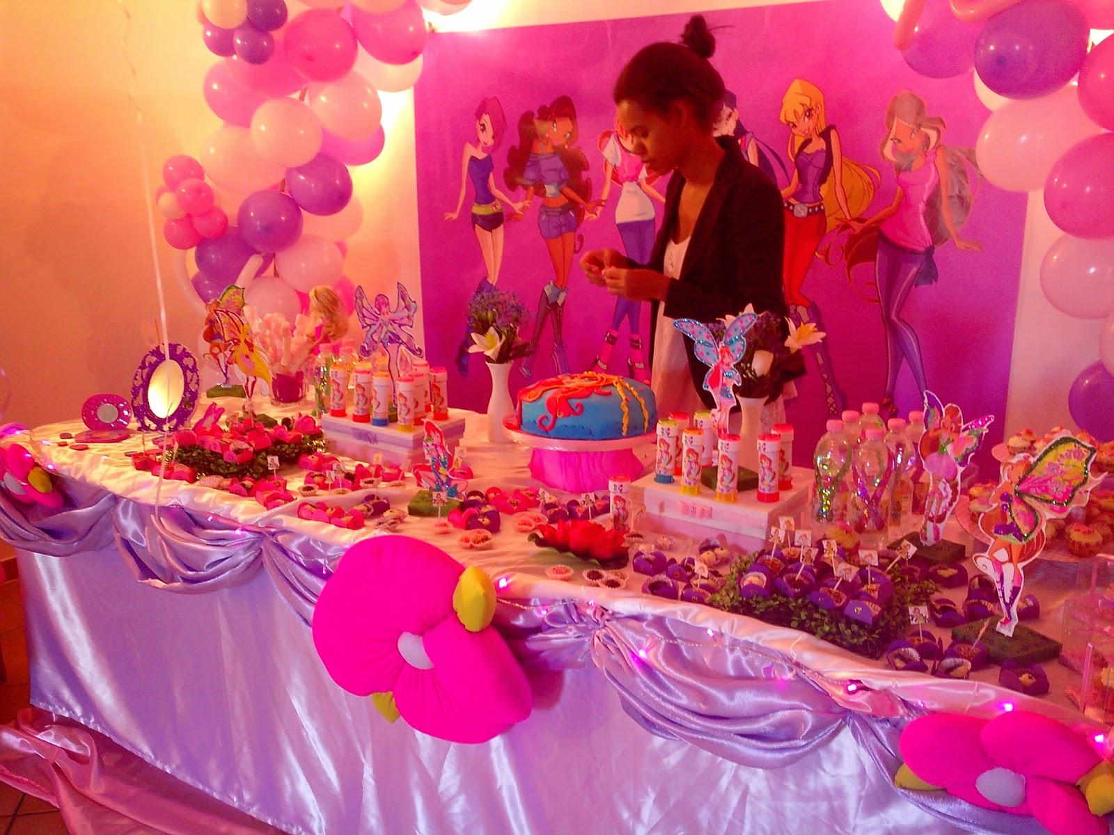 Le torte di ingrid decorazioni festa winx for Decorazioni feste