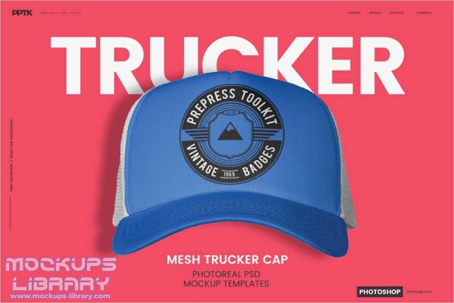 Trucker Hat Mockup