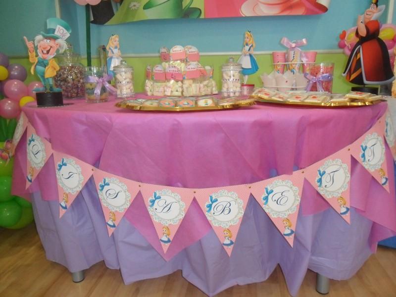 """Preferenza nonsolopreziosi: Festa a tema """" Alice nel Paese delle Meraviglie """". KI27"""