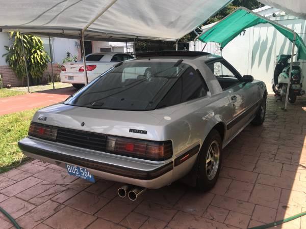1984 Mazda 1st Gen Rx7 For Sale On Craigslist