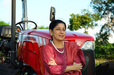 Mallika Srinivasan inspirational woman 2017