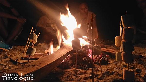 Bonfire night in Nagsasa