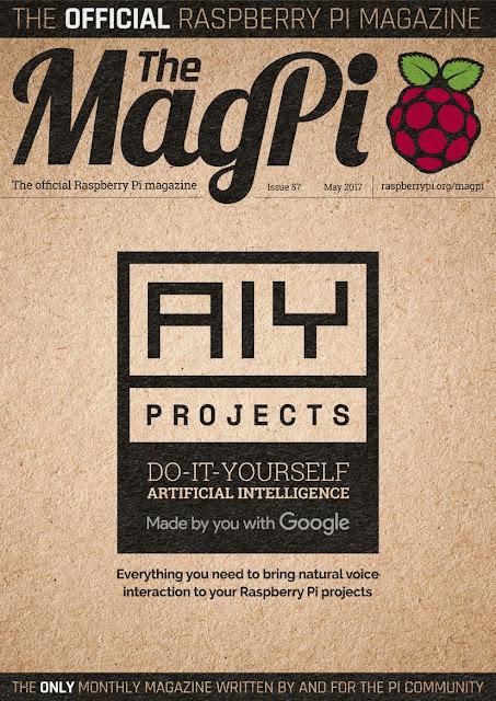57ª edição da revista The MagPi